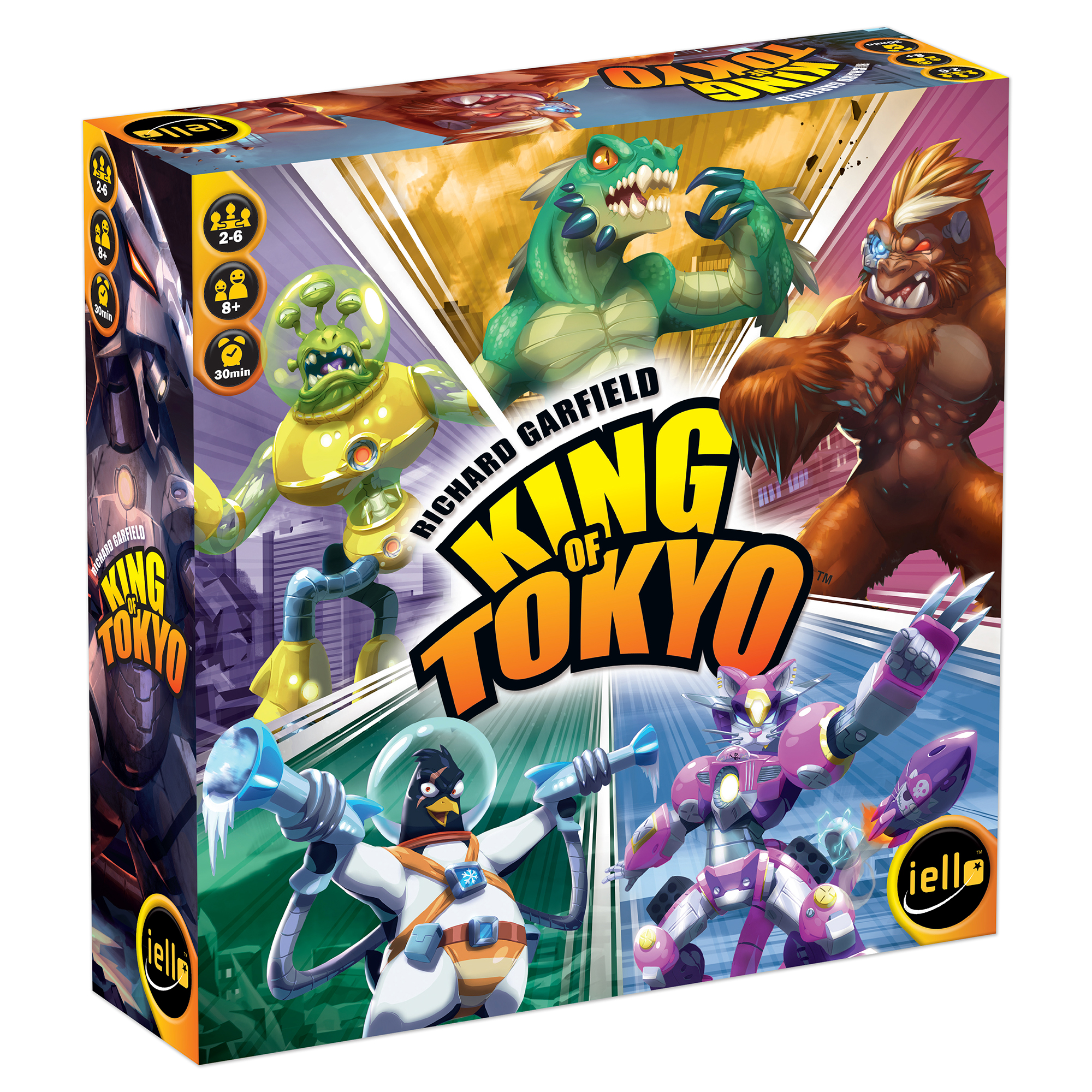 King of Tokyo new edition box